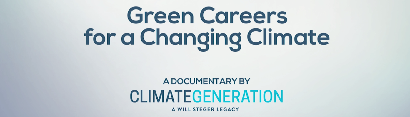 Green Careers for a Changing Climate